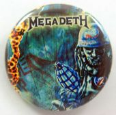 Megadeth - 'Tour of Duty' 32mm Badge